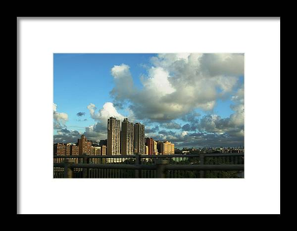City Framed Print featuring the photograph New York by Paul SEQUENCE Ferguson       sequence dot net