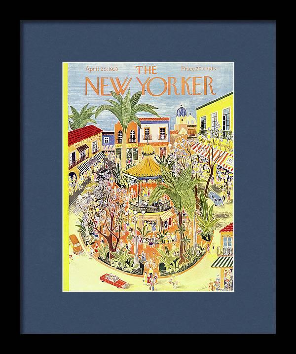 New Yorker April 25 1953 by Ilonka Karasz