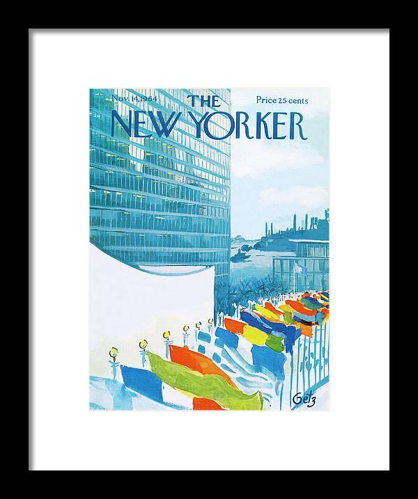 New Yorker November 14th, 1964 by Arthur Getz
