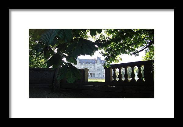 Mansion Framed Print featuring the photograph Newport Mansion by Nikita Zabowski