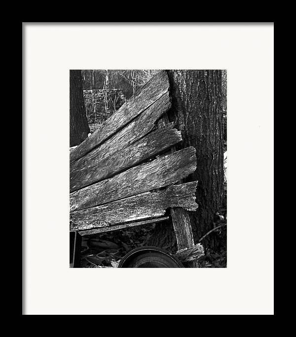 Ansel Adams Framed Print featuring the photograph Nextdoorolddoor by Curtis J Neeley Jr