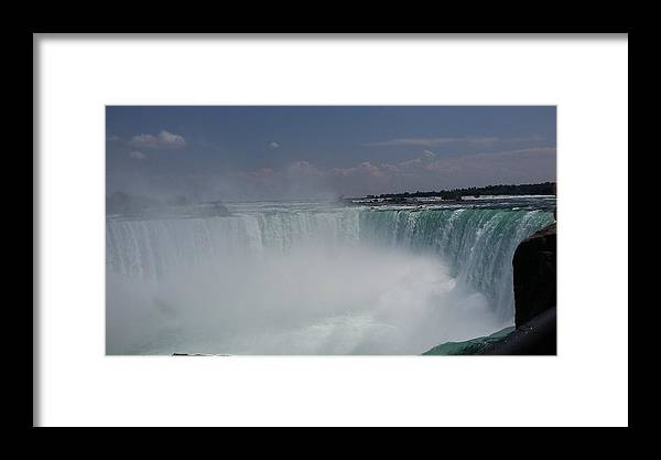 Water Framed Print featuring the photograph Niagara Falls by Pics by Jody Adams