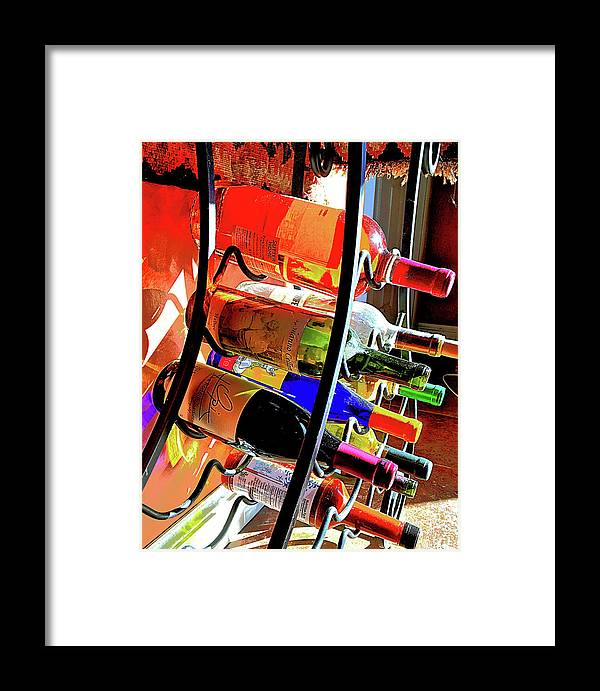 Framed Print featuring the photograph Nice Rack by Cathy Peterson