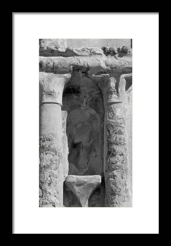 Niche Framed Print featuring the photograph Niche by Kathy McClure