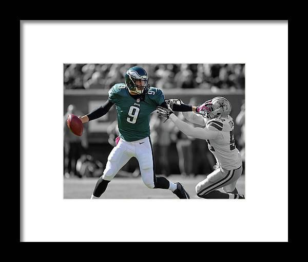 Nick Foles Eagles Super Bowl 2 by Movie Poster Prints