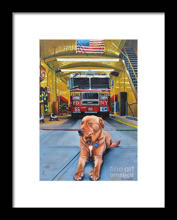 Fdny Framed Print featuring the painting Nickels by Paul Walsh