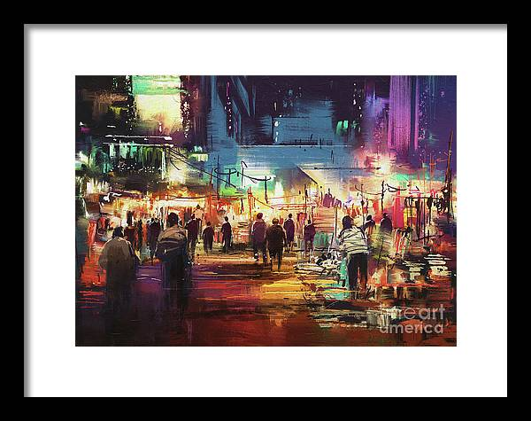 Night Market by Tithi Luadthong