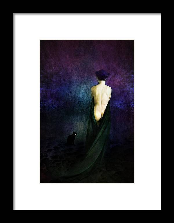 Framed Print featuring the photograph Night Of Suicides by Zygmunt Kozimor