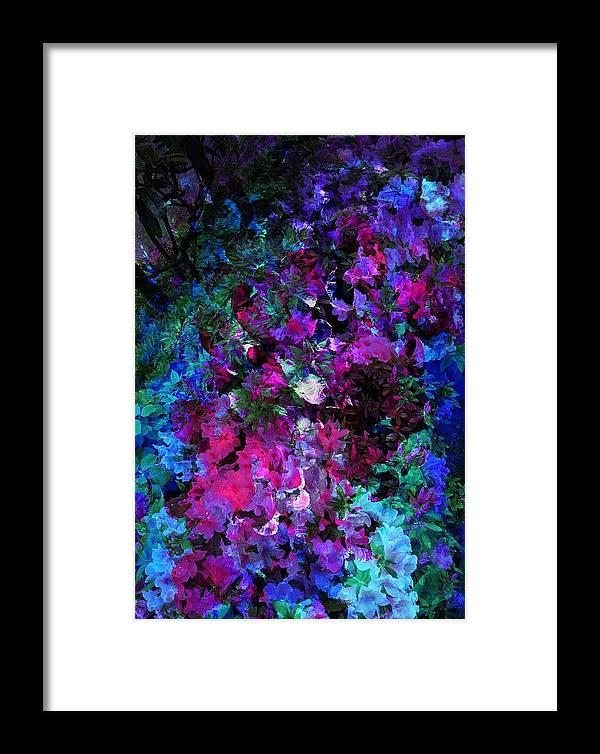 Acrylic Framed Print featuring the digital art Night by Shun Todoroki