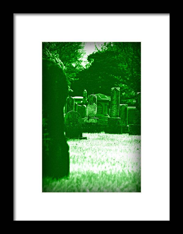 Night Framed Print featuring the photograph Night Vision by Carl Perry
