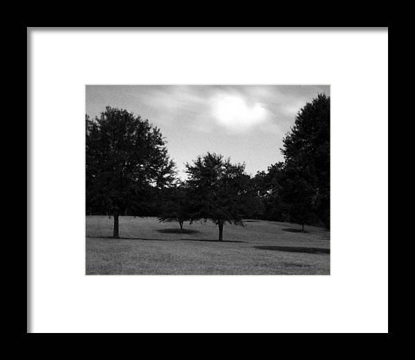 Landscape Framed Print featuring the photograph Nine Thirty At Night Where My Heart Is by Heather S Huston