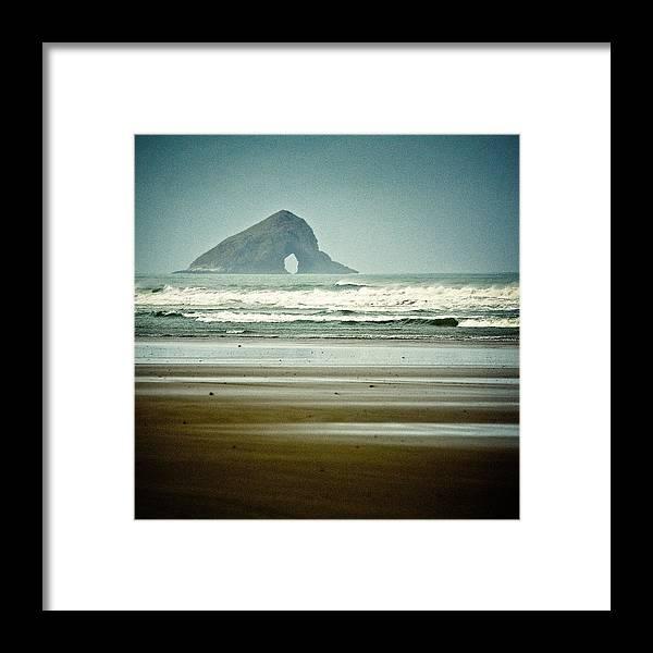 Matapia Island Framed Print featuring the photograph Matapia Island by Dave Bowman