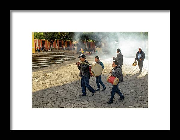 Antigua Guatemala Framed Print featuring the photograph Nino Del Tambor - Ciudad Vieja by Totto Ponce