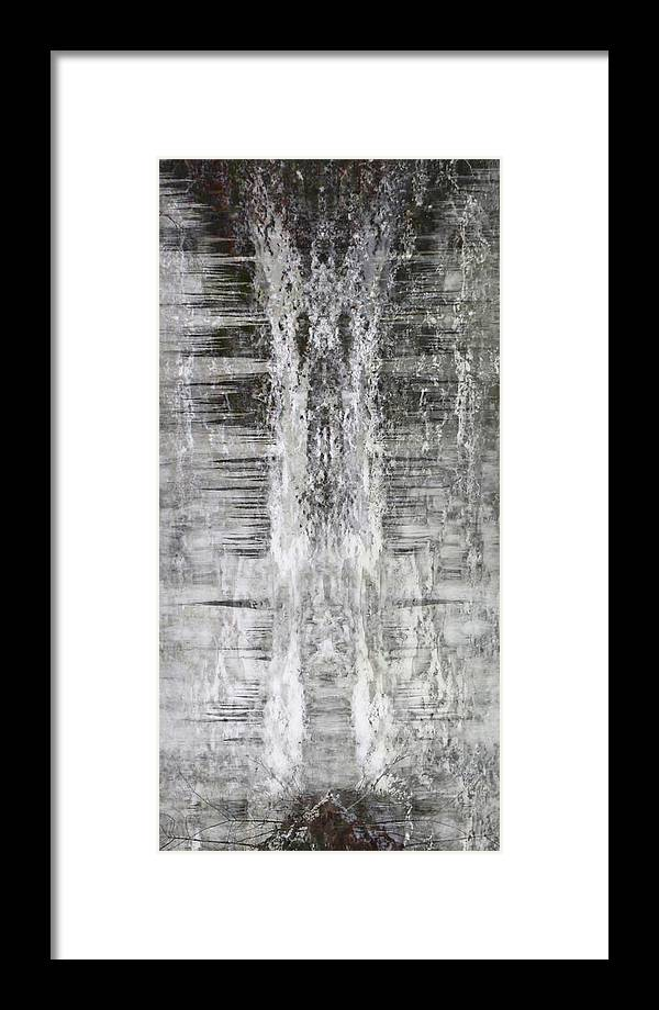 Abstract Framed Print featuring the photograph Nix Angelus by Azthet Photography