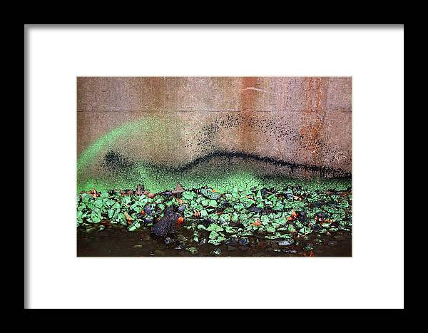 Abstract Framed Print featuring the photograph Nj Abstract Three by Heather S Huston