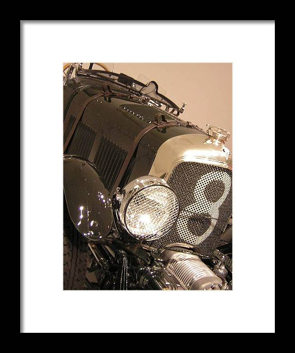 Car Framed Print featuring the photograph No. 8 by Heather Weikel