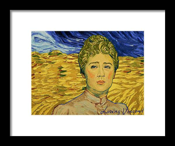 Framed Print featuring the painting No Detail of Life Was Too Small, or Too Humble for Him by Sara Calderon Gonzalez