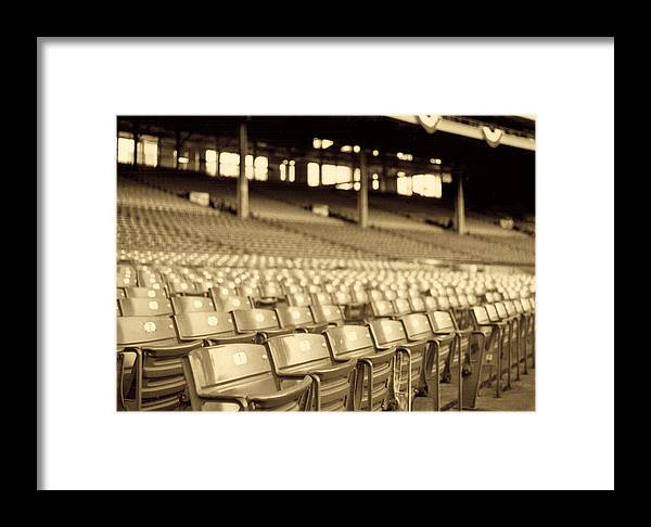 Cleveland Framed Print featuring the photograph No Games Left To See by Kenneth Krolikowski