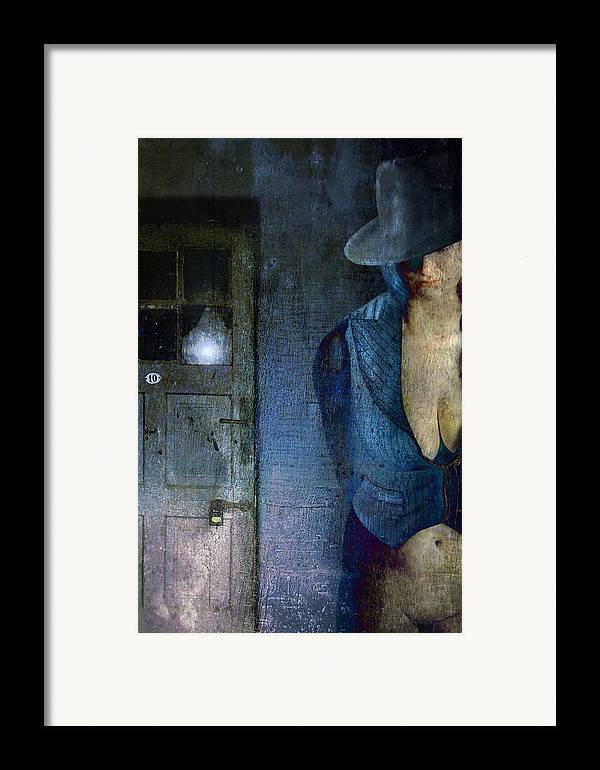 Framed Print featuring the photograph No Return After Midnight by Zygmunt Kozimor