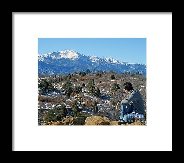 Colorado Framed Print featuring the photograph No room but has a View by Jack Norton