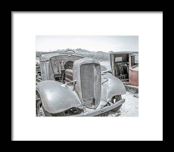 Ford Framed Print featuring the photograph No Rust Here by Darrell Foster