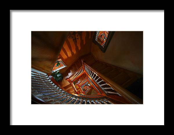 Stairs Framed Print featuring the photograph No Way Out by Robert Och
