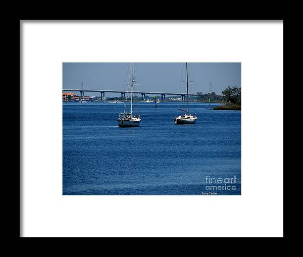 Patzer Framed Print featuring the photograph No Yard Work by Greg Patzer