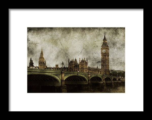 London Framed Print featuring the photograph Noble Attributes by Andrew Paranavitana