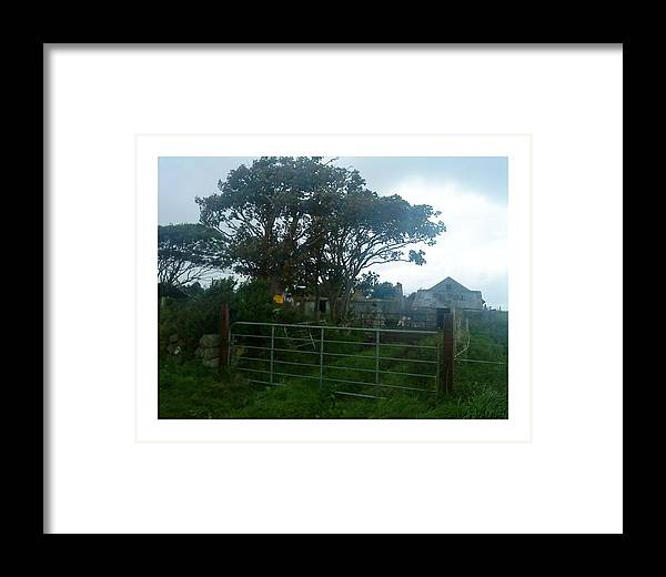Old Farmhouse Framed Print featuring the photograph Nobody Home by Colin O neill