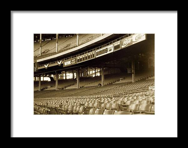 Cleveland Framed Print featuring the photograph Nobodys Home by Kenneth Krolikowski