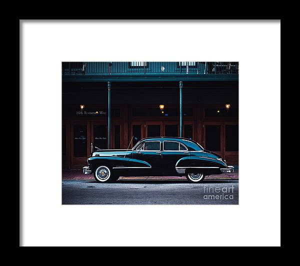 Cadillac Framed Print featuring the photograph NOLA Caddie by Sonja Quintero