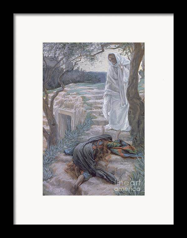Noli Framed Print featuring the painting Noli Me Tangere by Tissot