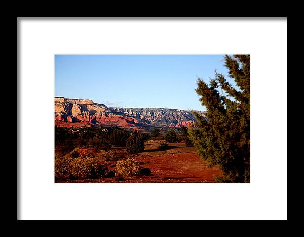 Landscape Framed Print featuring the photograph None by Jennilyn Benedicto