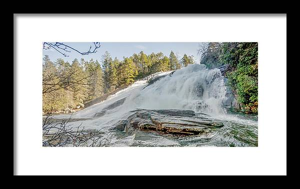 Beautiful Framed Print featuring the photograph North Carolina - Dupont State Forest - Waterfall Collection by Ryan Kelehar