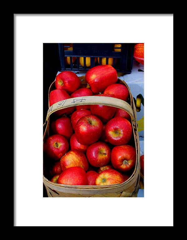 Georgia Framed Print featuring the photograph North Ga. Apples by Ralph Perdomo
