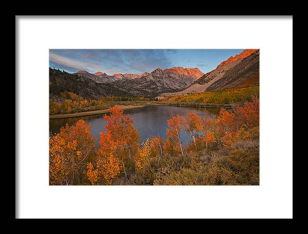 Eastern Sierra Framed Print featuring the photograph North Lake Sunrise by Nolan Nitschke
