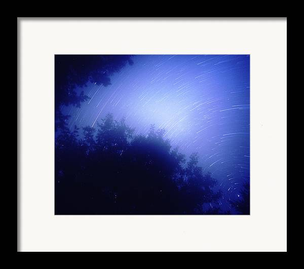 Nature Framed Print featuring the photograph North Star by Benjamin Garvey