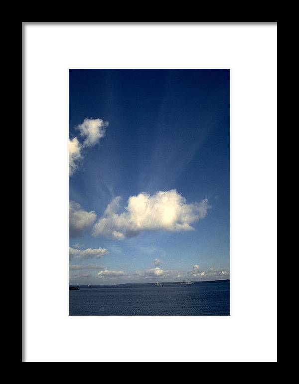 Northern Sky Framed Print featuring the photograph Northern Sky by Flavia Westerwelle