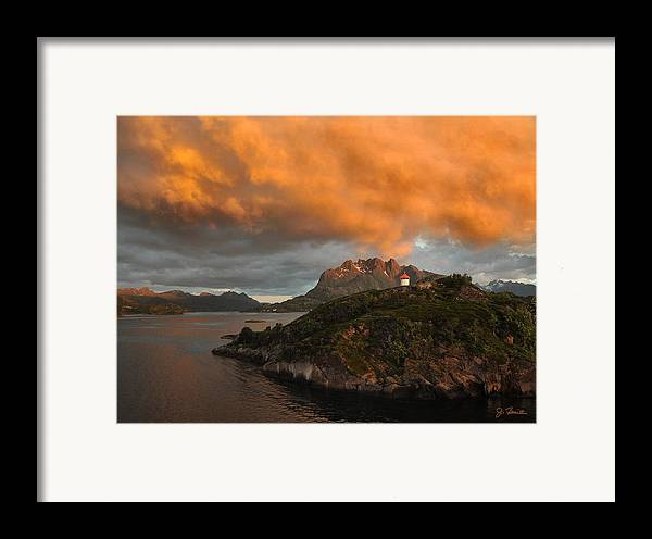 Norway Framed Print featuring the photograph Norwegian Coast No. 6 by Joe Bonita