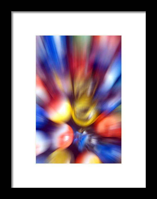 Marbles Framed Print featuring the photograph Nostalgic Marbles 3 by Steve Ohlsen