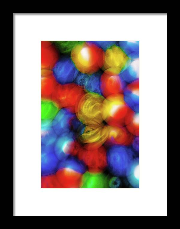 Abstract; Abstraction; Background; Balls; Round; Rounded; Discs; Disc; Orbs; Orb; Globe; Globes; Sphere; Spheres; Circle; Circles; Circular; Colorful; Colors; Marbles; Pattern; Patterns; Still Life; Swirl; Swirls; Toy; Toys; Digital Art; Artistic; Blurry; Blurred; Patterns; Textures; Shapes; Design; Canvas; Craquelure; Sandstone; Painterly; Glow; Radiance; Luminence; Glowing; Shining; Illumination; Bright Framed Print featuring the photograph Nostalgic Marbles 5 by Steve Ohlsen