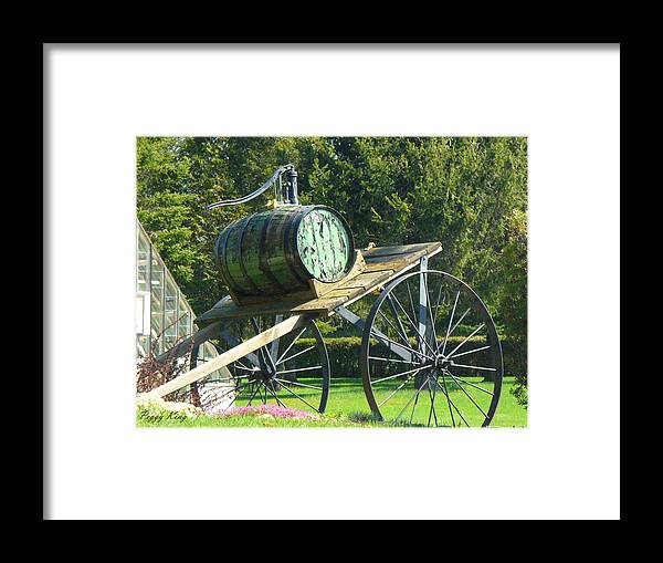 Framed Print featuring the photograph Nostalgic by Peggy King