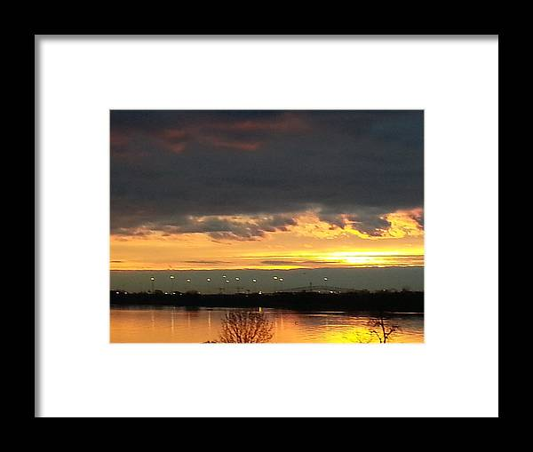 Good Morning Framed Print featuring the photograph Not Just Another Sunrise by Teresa J Bowman