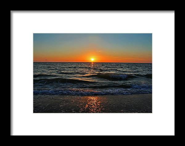 Sunset Framed Print featuring the photograph Nothing More To Say by Michiale Schneider