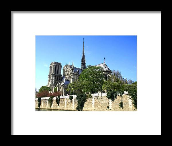 Notre Dame Framed Print featuring the photograph Notre Dame by Hans Jankowski