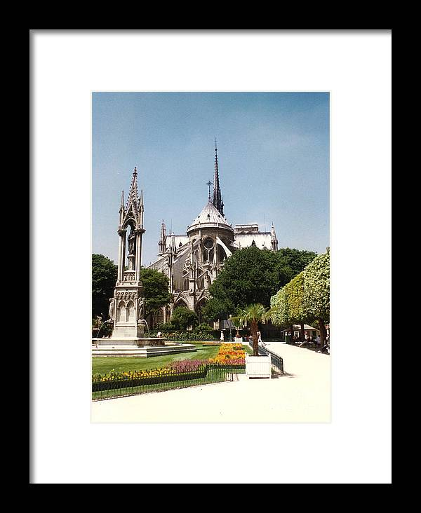 Church Framed Print featuring the photograph Notre Dame by Jason Williams