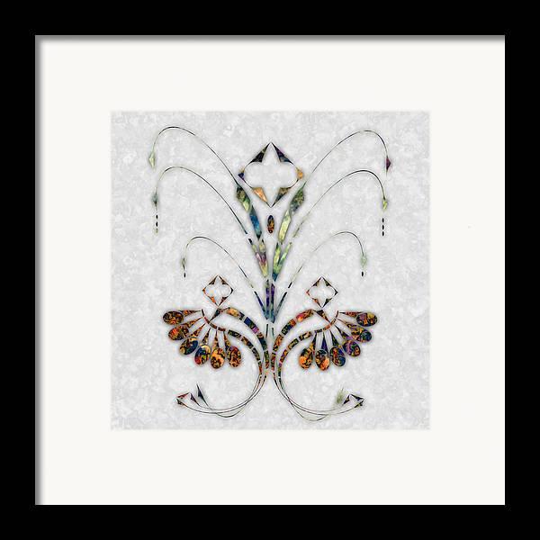 Art Nouveau Framed Print featuring the digital art Nouveau 4 by Gae Helton