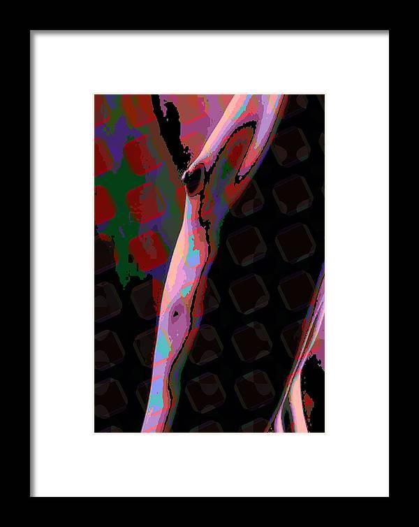 Nude Framed Print featuring the digital art Nude 11 by Scott Davis