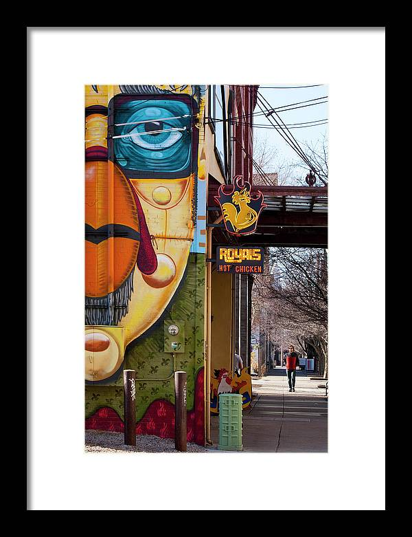 Cityscape Framed Print featuring the photograph Nulu 2 by Art Ferrier