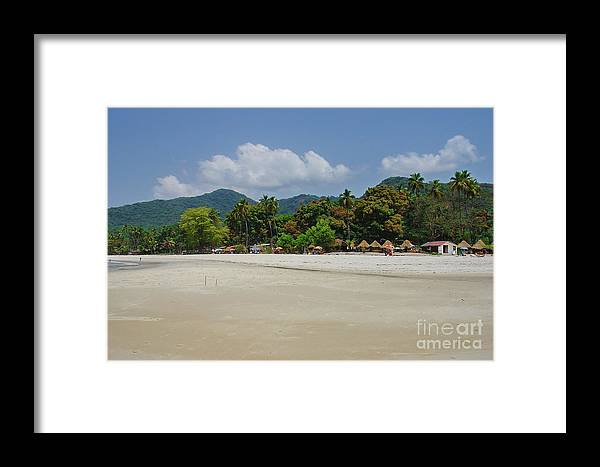 Nature Framed Print featuring the photograph Number 2 Beach by Hussein Kefel
